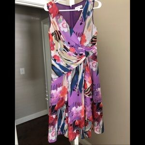 Floral dress from Coldwater Creek. Size 4.